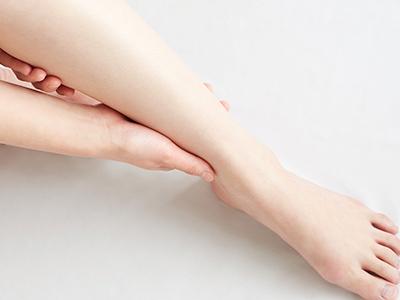健康的で美しい足