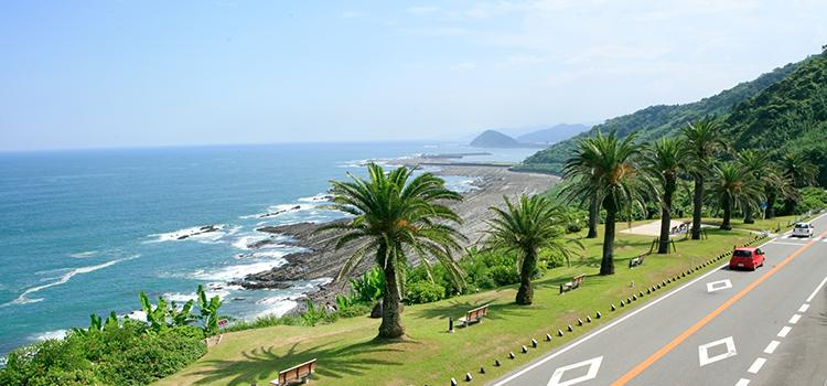 宮崎県の美しい海岸