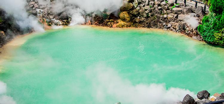 全国で有名な大分の温泉