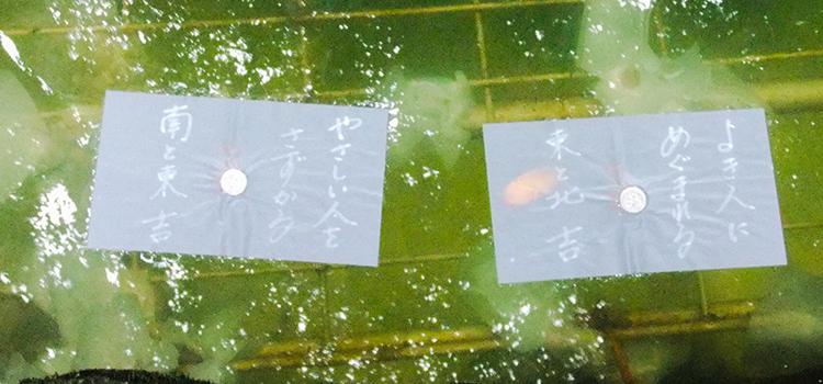 島根県で有名な鏡の池占い