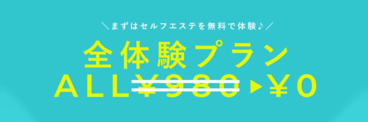 お試し体験代0円